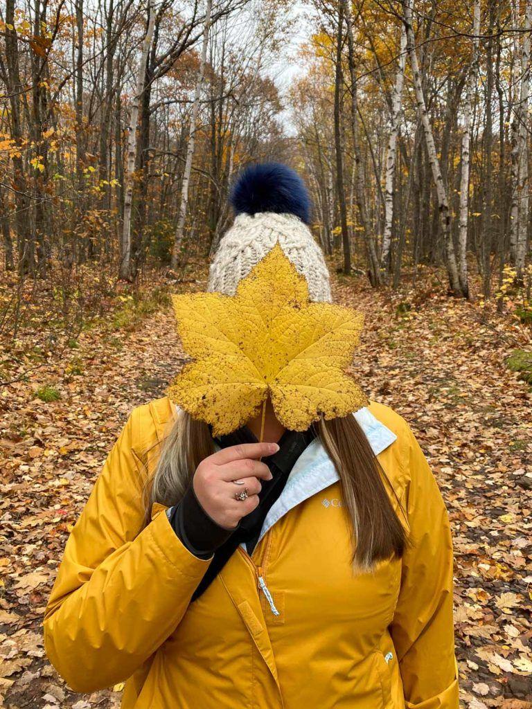 Amanda in yellow in Michigan