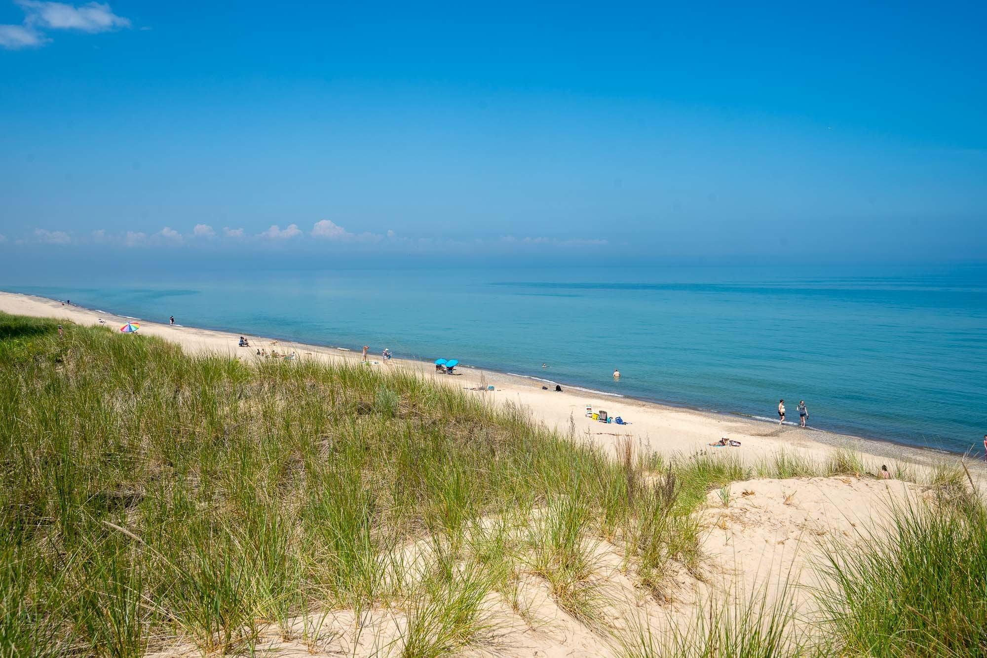 Indiana Dunes National Park beach