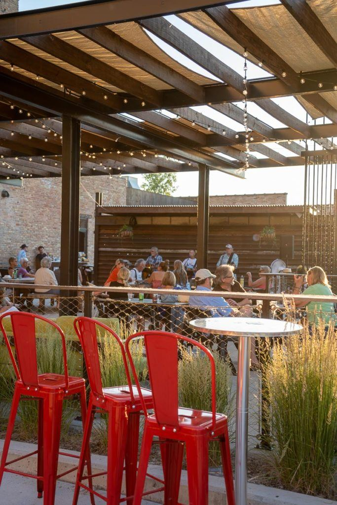 Patio at Garver Feed Mill