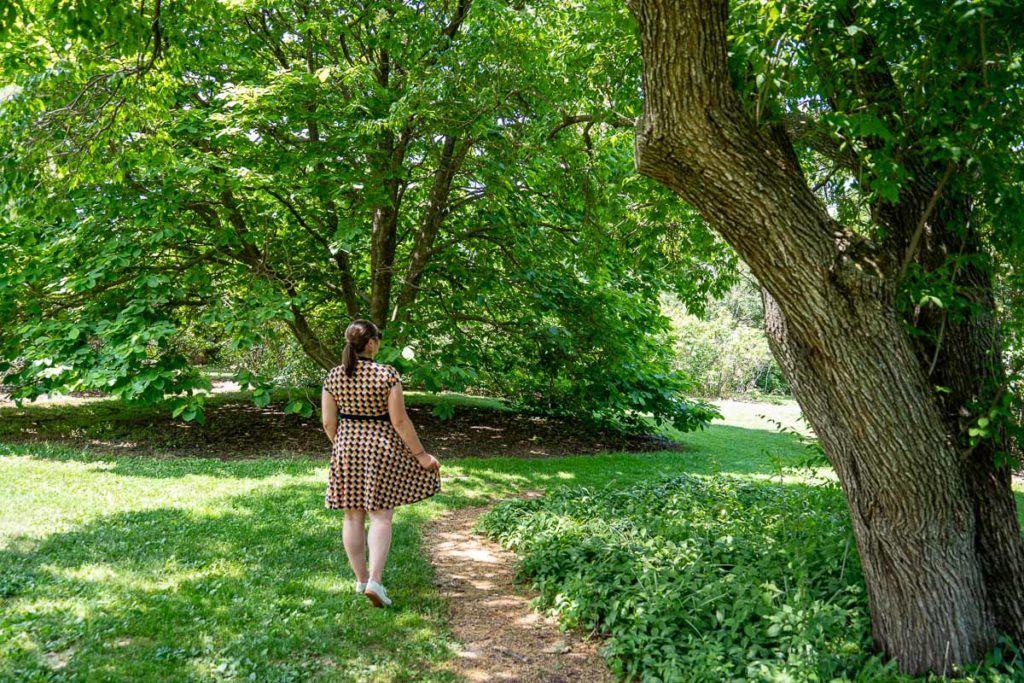 Amanda at UW-Madison Arboretum