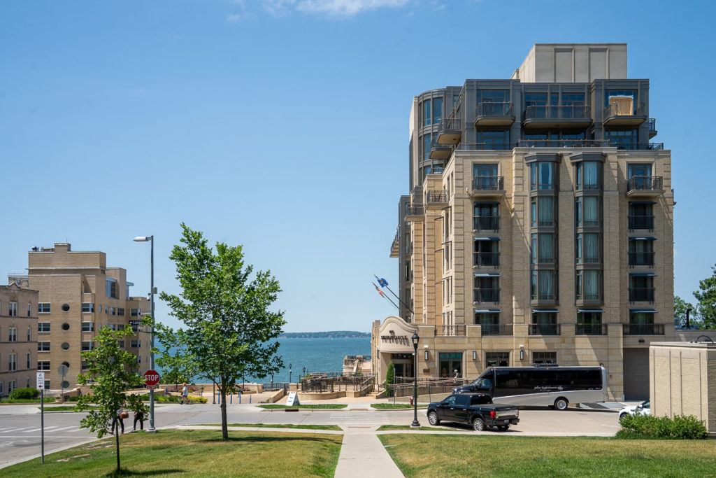 The Edgewater hotel in Madison
