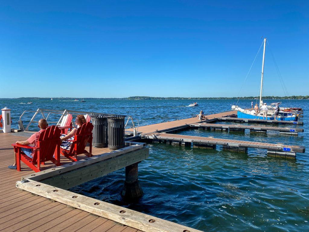 Lake Mendota in Madison